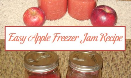 Easy Apple Freezer Jam Recipe