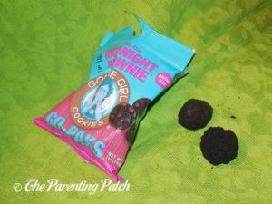 Open Bag of Midnight Brownie Goodie Girl Cookies