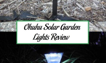 ohuhu solar garden lights review