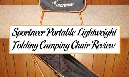 Sportneer Portable Lightweight Folding Camping Chair Review