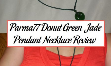 Parma77 Donut Green Jade Pendant Necklace Review