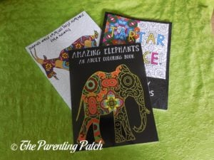 14 Peaks Adult Coloring Book Set