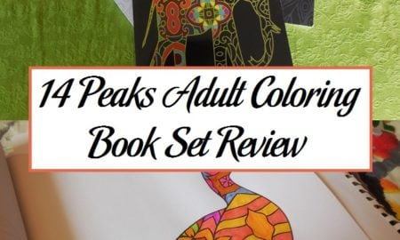 14 Peaks Adult Coloring Book Set Review