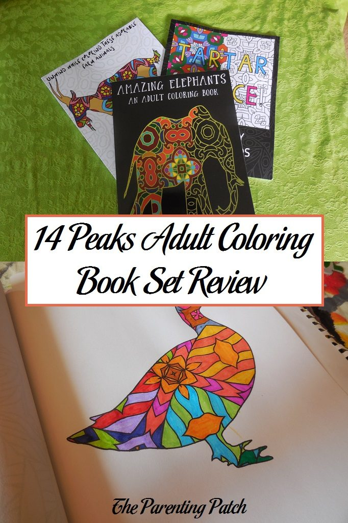 14 Peaks Adult Coloring Book Set Review