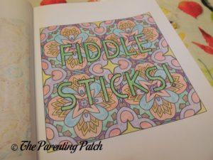 Colored Picture in 14 Peaks Kid-Friendly Swear Words 2
