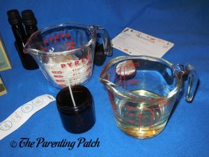 Making Candles with Simply Earth Essential Oil Box 1