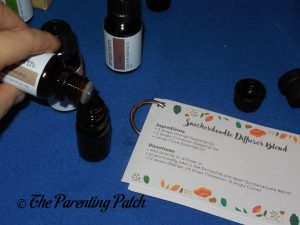Making Oil Blends with Simply Earth Essential Oil Box 2
