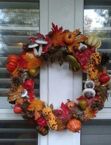 DIY Sensational Fall Wreath
