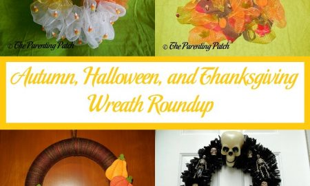 Autumn, Halloween, and Thanksgiving Wreath Roundup