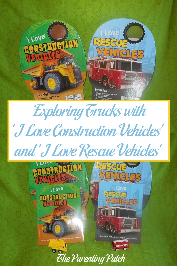 Exploring Trucks with 'I Love Construction Vehicles' and 'I Love Rescue Vehicles'