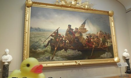 The Duck and Washington Crossing the Delaware