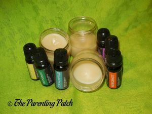 Easy DIY Body Butter and Lip Balm with Essential Oil Bottles