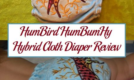HumBird HumBumHy Hybrid Cloth Diaper Review