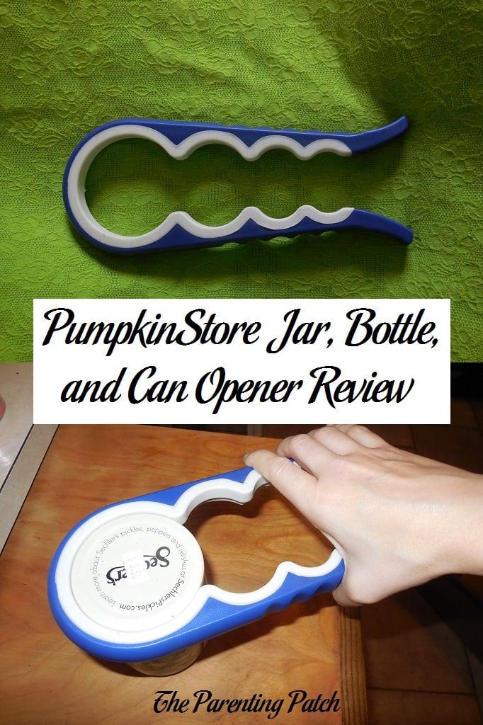 PumpkinStore Jar, Bottle, and Can Opener Review