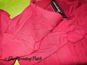 Shoulder of V-Neck Ruffled Long-Sleeve Draped-Shoulder Blouse Tunic Top