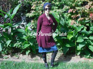 Heather Wearing Long-Sleeve Cowl-Neck Tunic Blouse 1Heather Wearing Long-Sleeve Cowl-Neck Tunic Blouse 1Heather Wearing Long-Sleeve Cowl-Neck Tunic Blouse 1