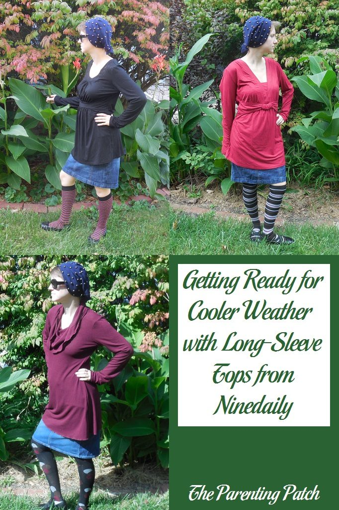 Getting Ready for Cooler Weather with Long-Sleeve Tops from Ninedaily