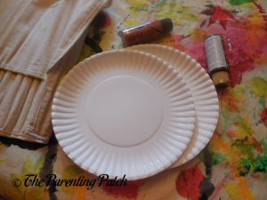 Paper Plates for D Is for Donut Paper Plate Craft
