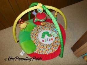 Assembled The Very Hungry Caterpillar Activity Gym with Musical Mobile
