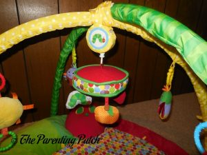 Musical Mobile on The Very Hungry Caterpillar Activity Gym