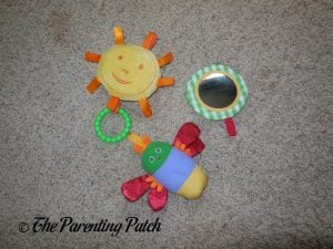 Detachable Toys of The Very Hungry Caterpillar Activity Gym with Musical Mobile 1