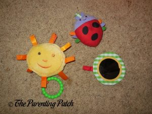 Detachable Toys of The Very Hungry Caterpillar Activity Gym with Musical Mobile 2