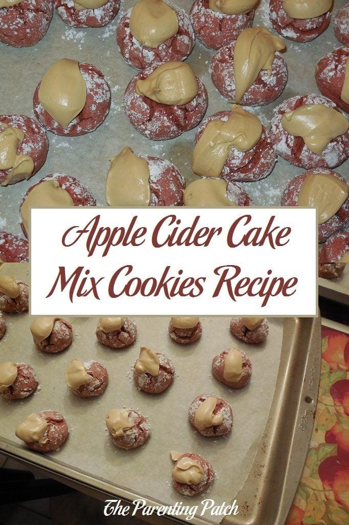 Apple Cider Cake Mix Cookies Recipe