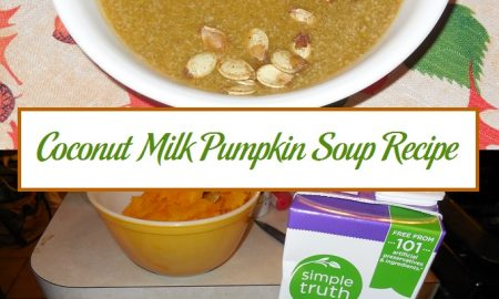 Coconut Milk Pumpkin Soup Recipe
