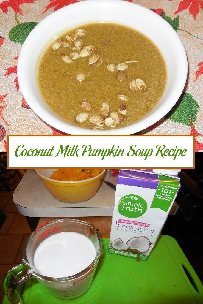 Coconut Milk Pumpkin Soup Recipe