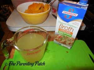Chicken Broth for Coconut Milk Pumpkin Soup