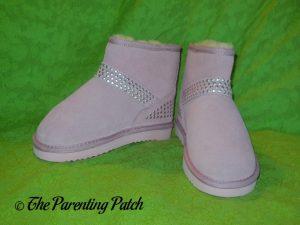 Cool Beans Pink Sheepskin Winter Boots 2