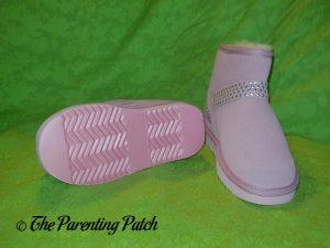 Cool Beans Pink Sheepskin Winter Boots 3
