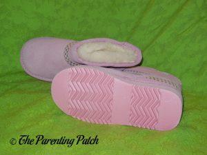 Cool Beans Pink Sheepskin Winter Boots 4