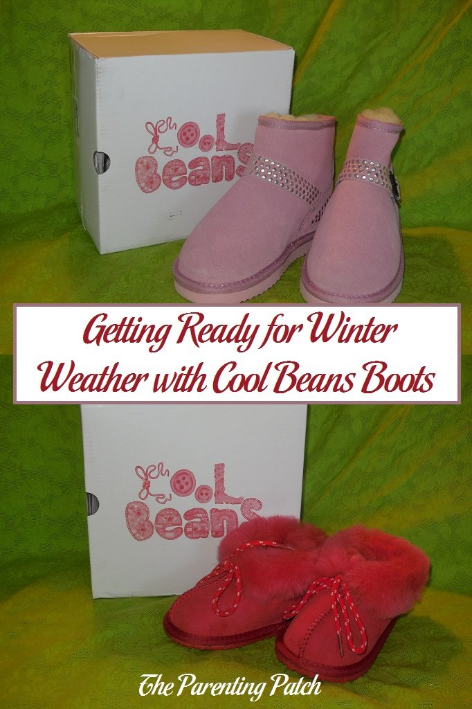 Getting Ready for Winter Weather with Cool Beans Boots