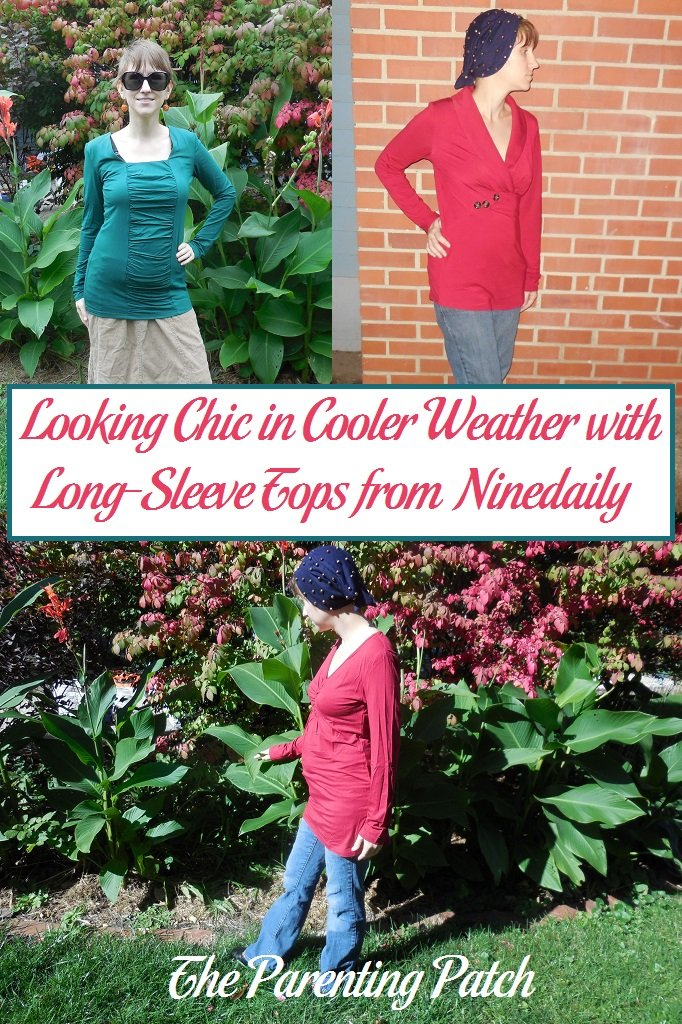 Looking Chic in Cooler Weather with Long-Sleeve Tops from Ninedaily