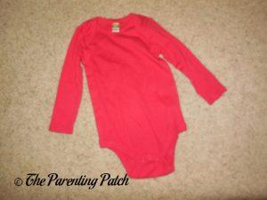 Red Body Suit for Linus Van Pelt Costume