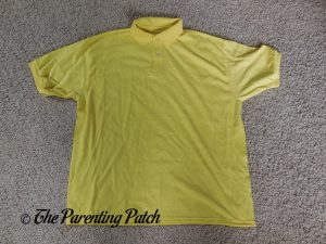 Yellow Polo Shirt for Charlie Brown Costume