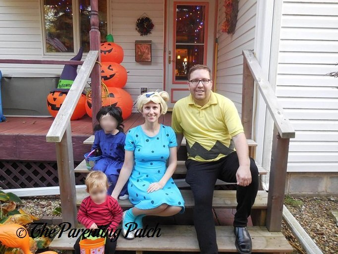 Linus, Lucy, Sally, and Charlie Brown 'Peanuts' Halloween Costumes