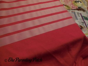 Taping the Red Body Suit for Linus Van Pelt Costume