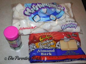 Ingredients for Dipped Marshmallows
