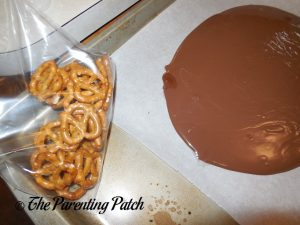 Crushing Pretzels for the Sweet and Salty Bark