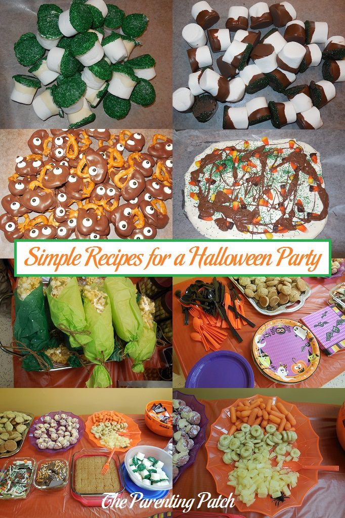 Simple Recipes for a Halloween Party