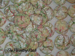 Christmas Sprinkle Cake Cookies