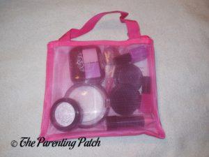 """Back of Cutegirl Cosmetics Pretend Makeup """"Essentials"""" Set"""