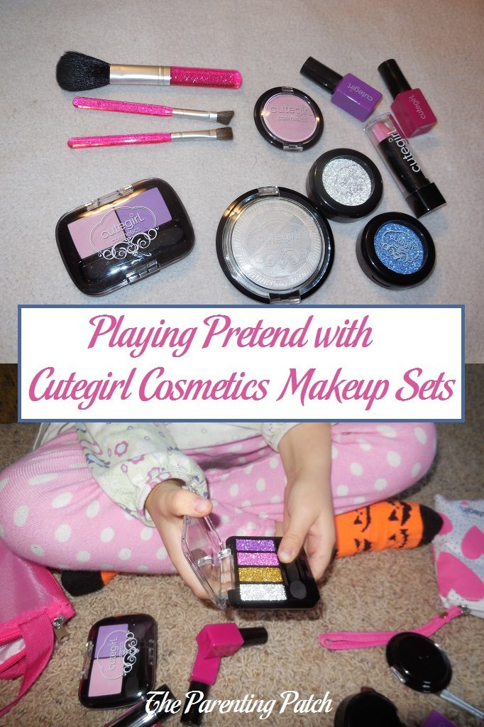 Playing Pretend with Cutegirl Cosmetics Makeup Sets
