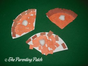 Pumpkin Pie Paper Plate Crafts
