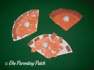 Pumpkin Pie Paper Plate Crafts