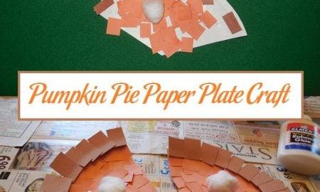 Pumpkin Pie Paper Plate Craft