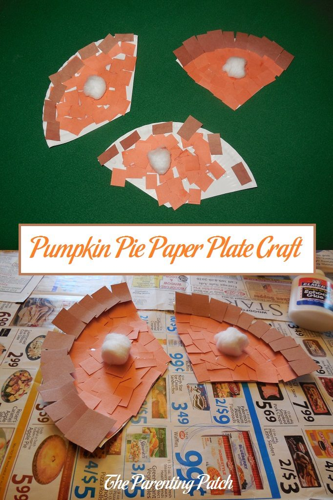 Pumpkin Pie Paper Plate Craft