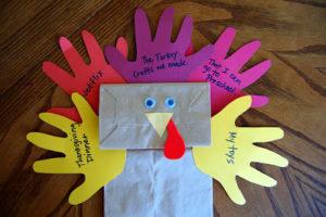 Thankful Turkey Puppets